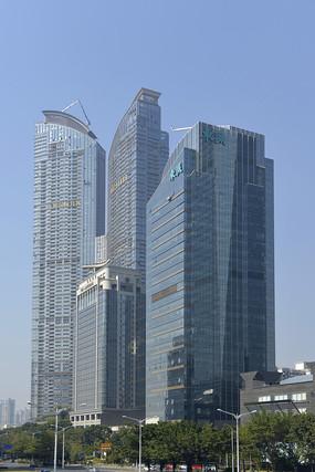 深圳市东海国际中心建筑群