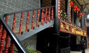 成都洛带古镇湖广会馆戏楼