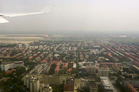飞临北京首都机场