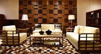 豪华古典风格的客厅