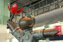 香港落马洲新波普艺术雕塑