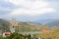 红河州建水县修建红河特大桥