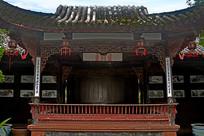 洛带古镇江西会馆戏台