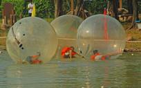 深圳海上田园休闲区水球游乐