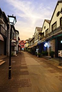 泰晤士小镇的街道