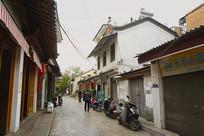 云南建水古城老街房子