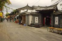 云南建水古城老街及民居