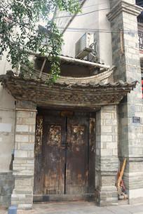 云南建水古城老街居民宅院