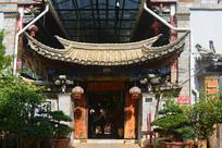云南建水古城中式门楼