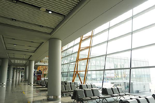 北京机场-钢架结构玻璃幕墙