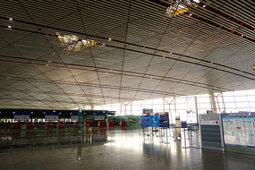 北京机场国际港澳台出发厅