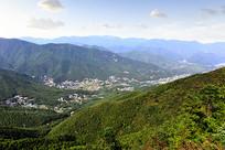 杭州莫干山风光