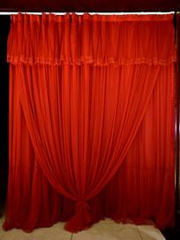 红色的帷幕