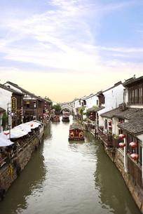 苏州山塘古镇风景