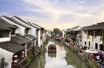 苏州山塘老街风景