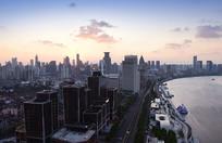 上海外滩建筑群风光