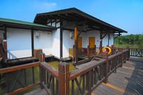 深圳海上田园度假村-水上木屋