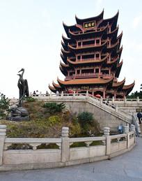 武汉的黄鹤楼