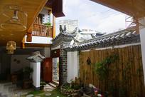 云南建水古城传统宅院内景
