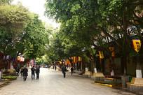 云南建水古城 早晨的街道