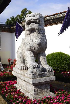 云南临安府署石狮