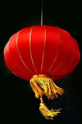 风中的红灯笼