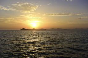 海上的阳光