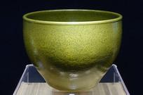 清代茶叶末釉钵