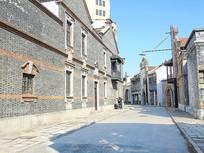 老上海街道景色