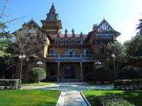 老上海西式城堡古砖建筑