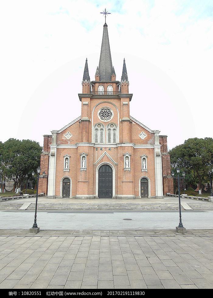老上海西式教堂图片