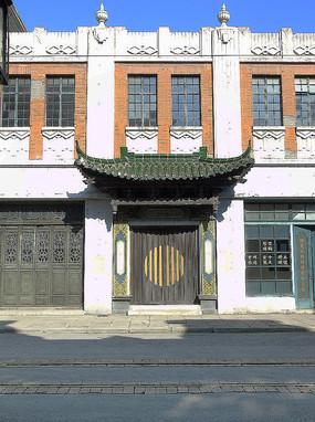 老上海中式大门