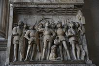 那不勒斯新堡群雕