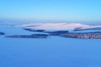 内蒙古呼伦贝尔原野冬季
