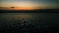 日落淀山湖