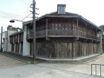 上海影视城古木屋