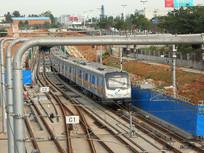 成都地铁行政学院站-折返线