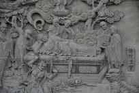 佛陀涅槃浮雕
