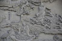 佛祖故事浮雕-初祖达摩