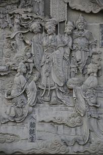 佛祖故事浮雕-入胎诞生