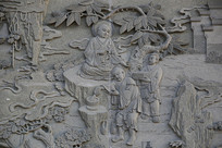 佛祖故事浮雕五祖弘忍