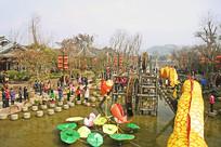 成都黄龙溪古镇-春节灯会