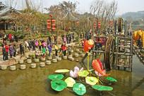 成都黄龙溪古镇-滴水漫滩景点
