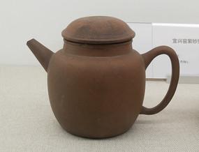 清朝文物宜兴窑紫砂壶