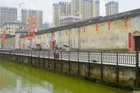 深圳龙岗鹤湖新居-月池和禾坪