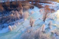 冰河红树林(航拍)