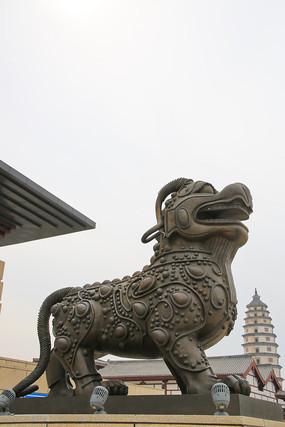 麒麟古塔定州标志
