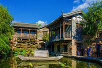 千山老房子建筑群与潭溪小木船