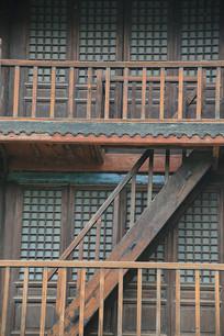 清代木楼楼梯