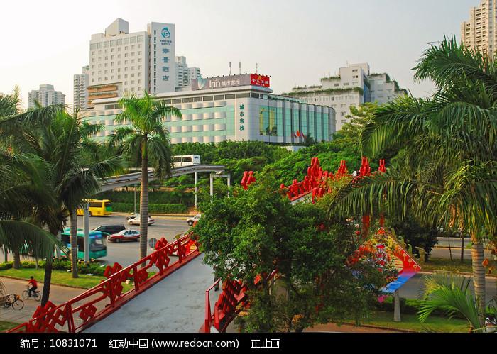 深圳华侨城宾馆酒店建筑图片